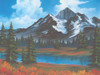 Bob Ross: Spring - 500pc Jigsaw Puzzle by Wellspring