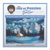 Bob Ross: Winter - 500pc Jigsaw Puzzle by Wellspring