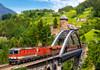 Train on the Bridge - 500pc Jigsaw Puzzle By Castorland