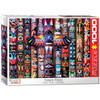 Totem Poles - 1000pc Jigsaw Puzzle by Eurographics