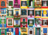 Mediterranean Windows - 1000pc Jigsaw Puzzle by Eurographics
