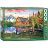 Davison: The Fishing Cottage - 1000pc Jigsaw Puzzle by Eurographics