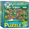 A Day in the Zoo - 100pc Jigsaw Puzzle by Eurographics
