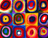 Colour Study of Squares by Wassily Kandinsky - 100pc Jigsaw Puzzle by Eurographics