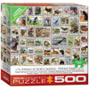 Animals of North America - 500pc Jigsaw Puzzle by Eurographics