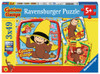 Curious George and Friends - 3x49pc Jigsaw Puzzle By Ravensburger