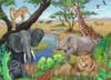 Safari Animals - 60pc Jigsaw Puzzle By Ravensburger