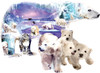 Polar World - 1000pc Shaped Jigsaw Puzzle By Sunsout
