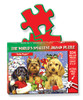 Yule Pups - 234pc TDC Miniature Jigsaw Puzzle