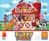 Fuzzy Puzzle: Barn by Ceaco (discon-22899)