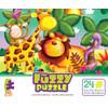 Fuzzy Puzzle: Safari by Ceaco (discon)