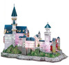 LED Light Up Version! Neuschwanstein Castle - 128pc 3D Jigsaw Puzzle by Daron