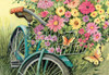 Bicycle Bouquet - 1000pc Jigsaw Puzzle by Lang