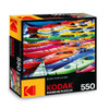 Kodak: Colorful Kayaks - 550pc Jigsaw Puzzle by Lafayette Puzzle Factory