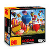 Up, Up & Away! Hot Air Balloon Fiesta, Albuquerque - 550pc Jigsaw Puzzle by Lafayette Puzzle Factory