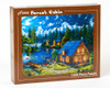 Forest Cabin - 1000pc Jigsaw Puzzle by Vermont Christmas Company