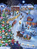 Jingle All the Way - 550pc Jigsaw Puzzle by Vermont Christmas Company