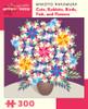 Nakamura: Cats, Rabbits, Birds, Fish, and Flowers - 300pc Jigsaw Puzzle by Pomegranate