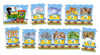 Train - 21pc Jigsaw Puzzle By Castorland