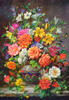 September Flowers - 1500pc Jigsaw Puzzle By Castorland