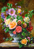Flowers in a Vase - 500pc Jigsaw Puzzle by Castorland