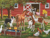 Welcome the New Pony - 300pc Large Format Jigsaw Puzzle by Sunsout