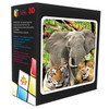 3D Puzzle: Jungle - 48pc Lenticular Jigsaw Puzzle