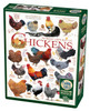 Chicken Quotes - 1000pc Jigsaw Puzzle by Cobble Hill