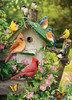 Summer Birdhouse - 1000pc Jigsaw Puzzle By Cobble Hill
