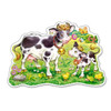 Cows on a Meadow - 12pc Jigsaw Puzzle By Castorland (discon-28519)