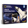 Space Exploration w/Booklet - 65pc 3D Jigsaw Puzzle by Daron