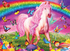 Rainbow World - 60pc Glow-in-the-Dark Jigsaw Puzzle by Masterpieces