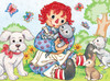 Raggedy Ann & Andy: Best Friends - 60pc Jigsaw Puzzle by Masterpieces