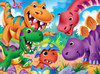 Googly Eyes: Dinosaurs - 48pc Jigsaw Puzzle by Masterpieces