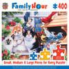 Springtime Wonders - 400pc Jigsaw Puzzle by Masterpieces