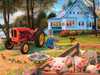 Hidden Images: Welcome Home - 550pc Glow-in-the-Dark Jigsaw Puzzle by Masterpieces