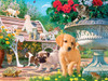 Hidden Images: Afternoon at the Park - 550pc Glow-in-the-Dark Jigsaw Puzzle by Masterpieces