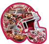 Wisconsin Helmet - 500pc Shaped Jigsaw Puzzle by Masterpieces