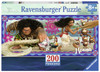 Moana's Adventure - 200pc Panoramic Jigsaw Puzzle by Ravensburger