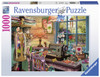 The Sewing Shed - 1000pc Jigsaw Puzzle By Ravensburger