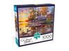 Darrell Bush: Canoe Camp - 1000pc Jigsaw Puzzle By Buffalo Games