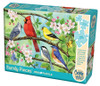 Bloomin' Birds - 350pc Family Jigsaw Puzzle by Cobble Hill