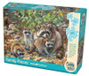 Raccoon Family - 350pc Family Jigsaw Puzzle by Cobble Hill