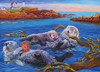 Sea Otter Family - 350pc Family Jigsaw Puzzle by Cobble Hill