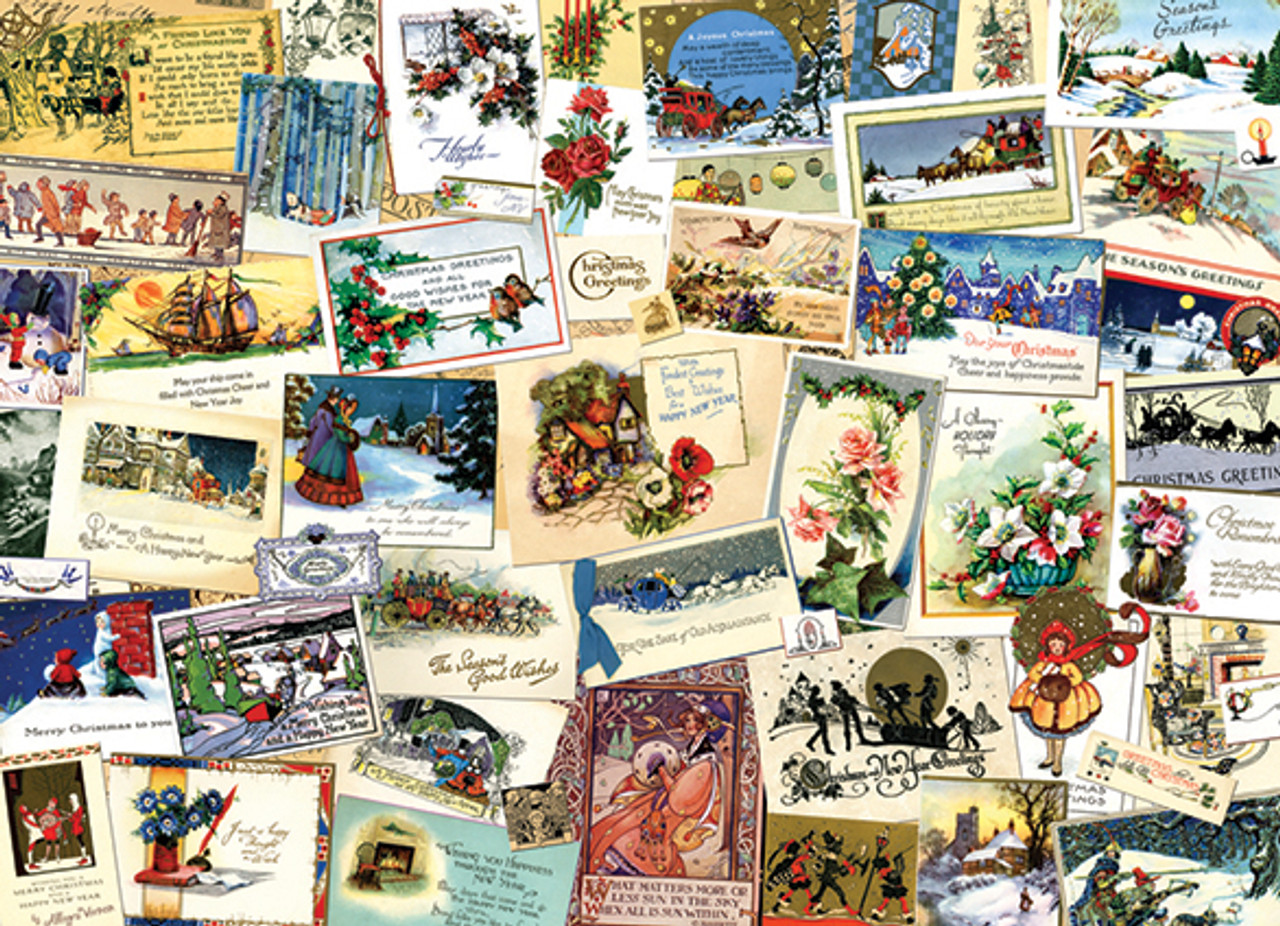 cobble hill victorian greeting cards jigsaw puzzle
