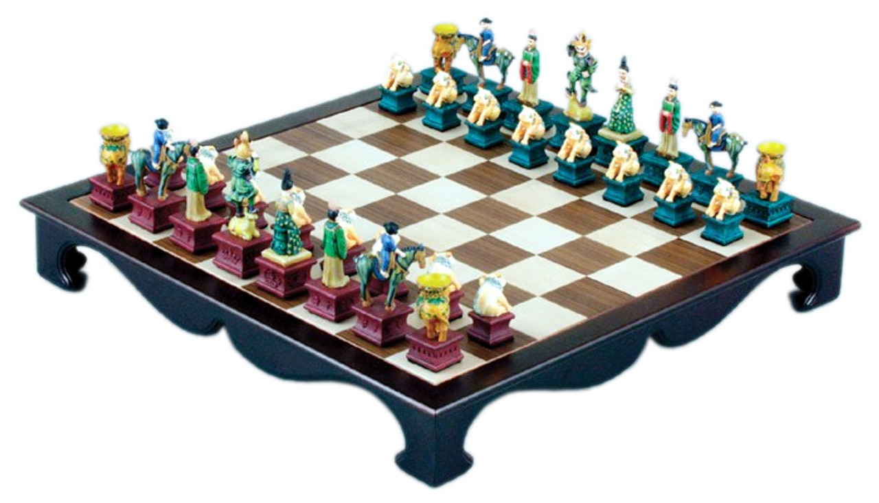 Tang Dynasty Chess with 19 5