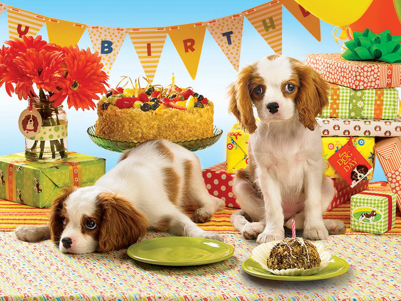 Every Dog Has Its Day - 275pc Easy Handling Jigsaw Puzzle ...