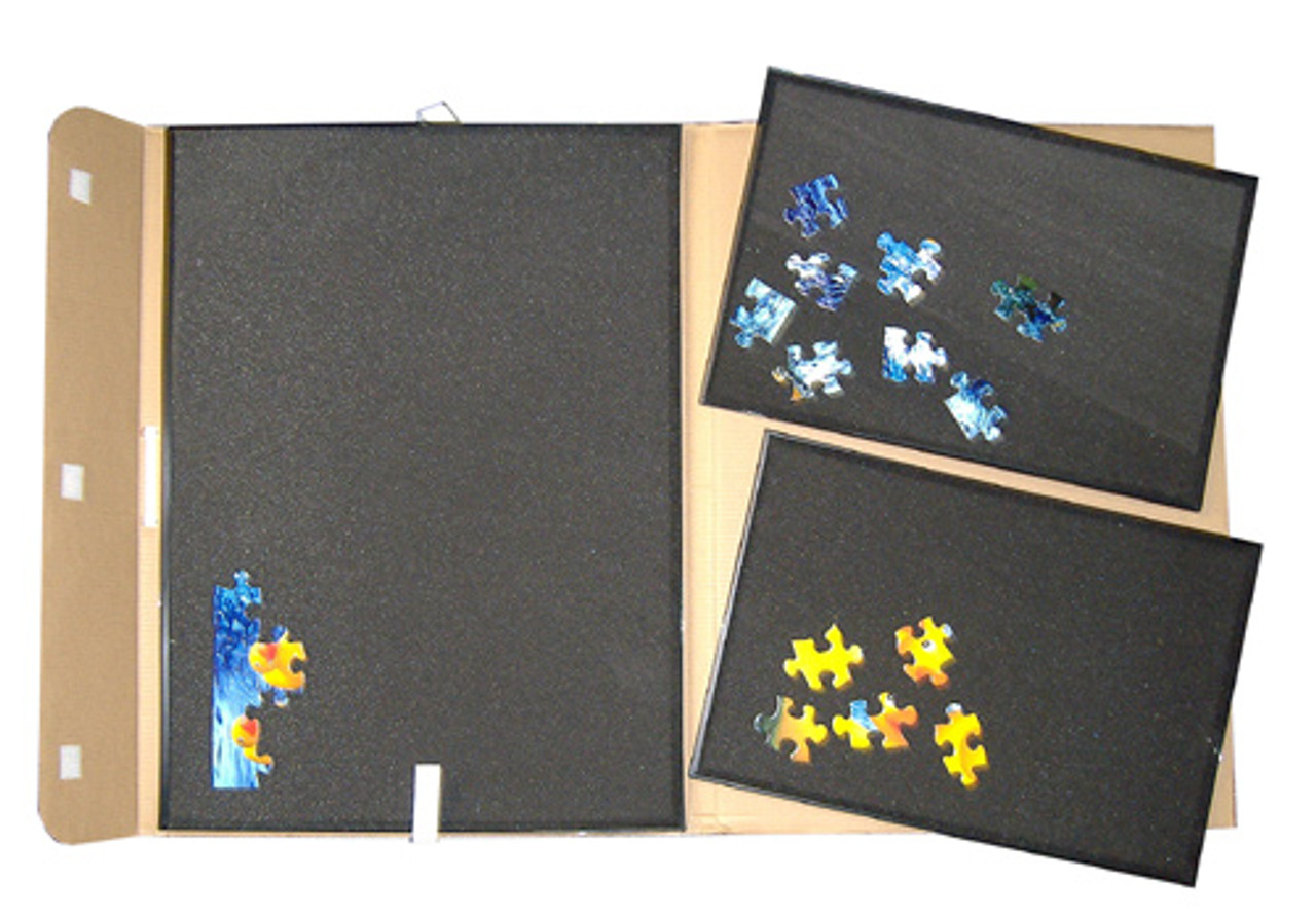 Jumbo Puzzle Caddy Up To 2000pc Jigsaw Storage Activity Board Discon