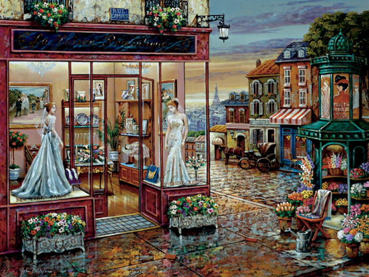 The Wedding Shop Jigsaw Puzzle 300pc FX Schmid 78835
