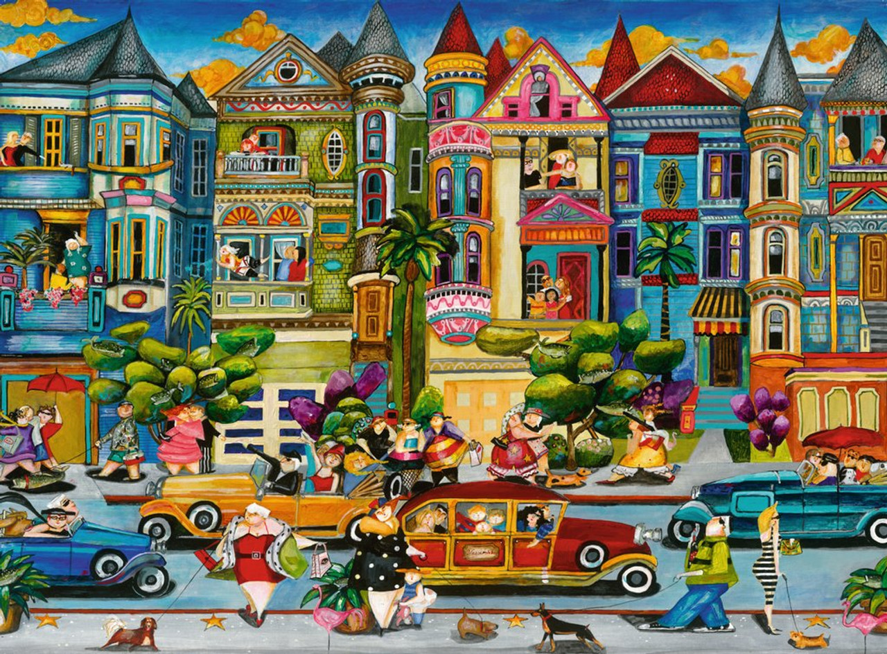 b25c59c7bc9 The Painted Ladies - 1500pc Jigsaw Puzzle by Ravensburger ...